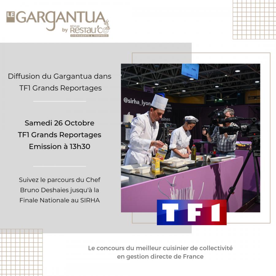 Le Gargantua sur TF1 Grands Reportages